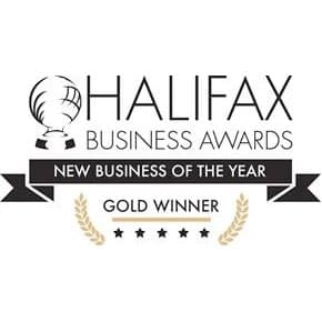 Halifax Business Awards New Business of the Year Gold Winner logo